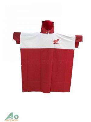 Áo Mưa Honda Trắng Đỏ