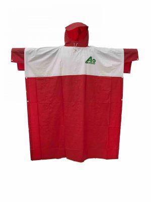 Áo Mưa Việt Trắng Đỏ