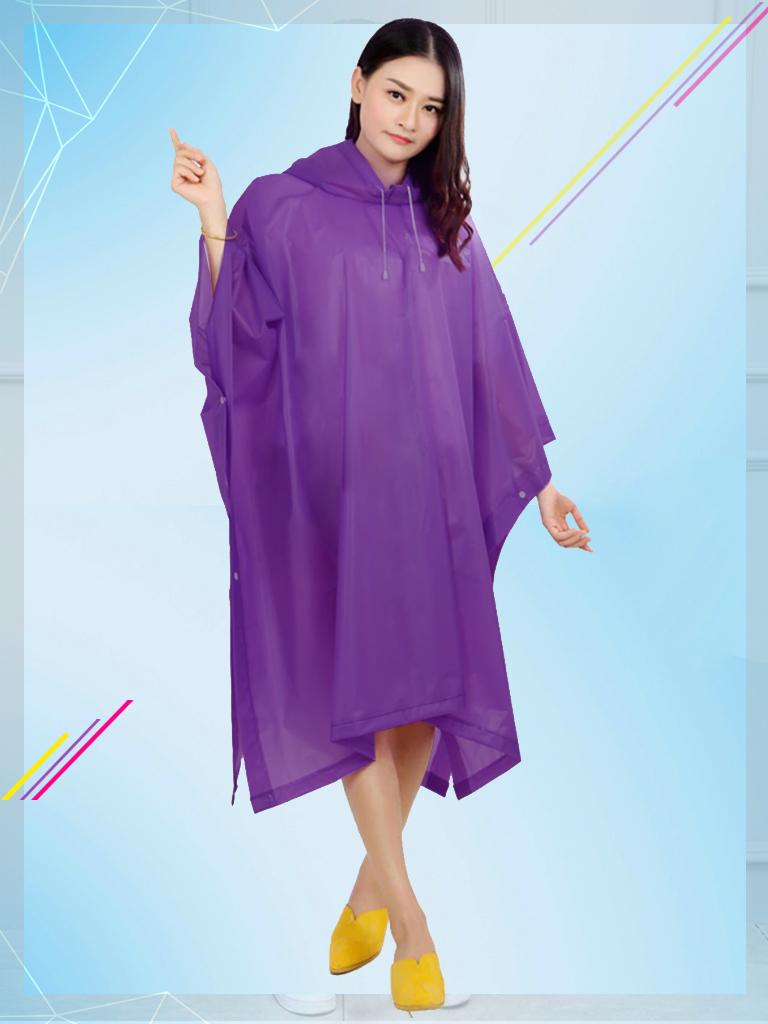 Áo mưa vải nhựa