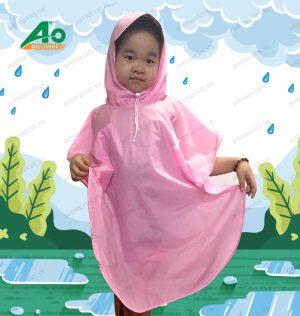 Áo mưa cánh bướm trẻ em 01