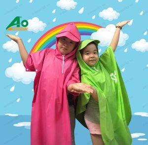 Áo mưa trẻ em 01